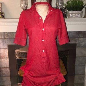 Women's A.P.C Rue De Fleurus Paris Shirt/Dress 36